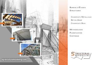 Plaquette de présentation du bureau études structures