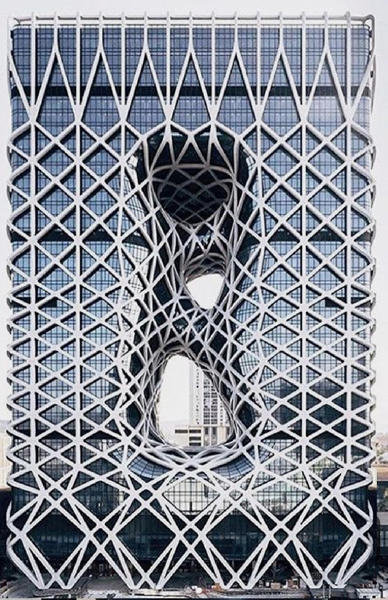 Etudes méthodologique - Hotel City of Dreams Macao - Zaha Hadid